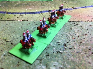 Blue cavalry scouting