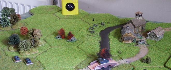 Turn 13 action