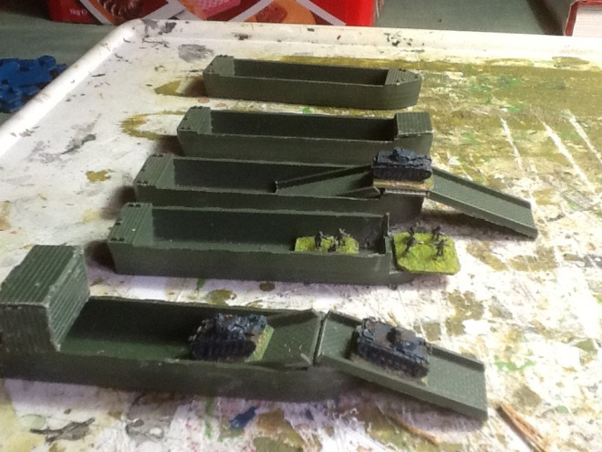 A selection of basic conversions for German barges