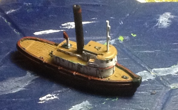 A small steam tug