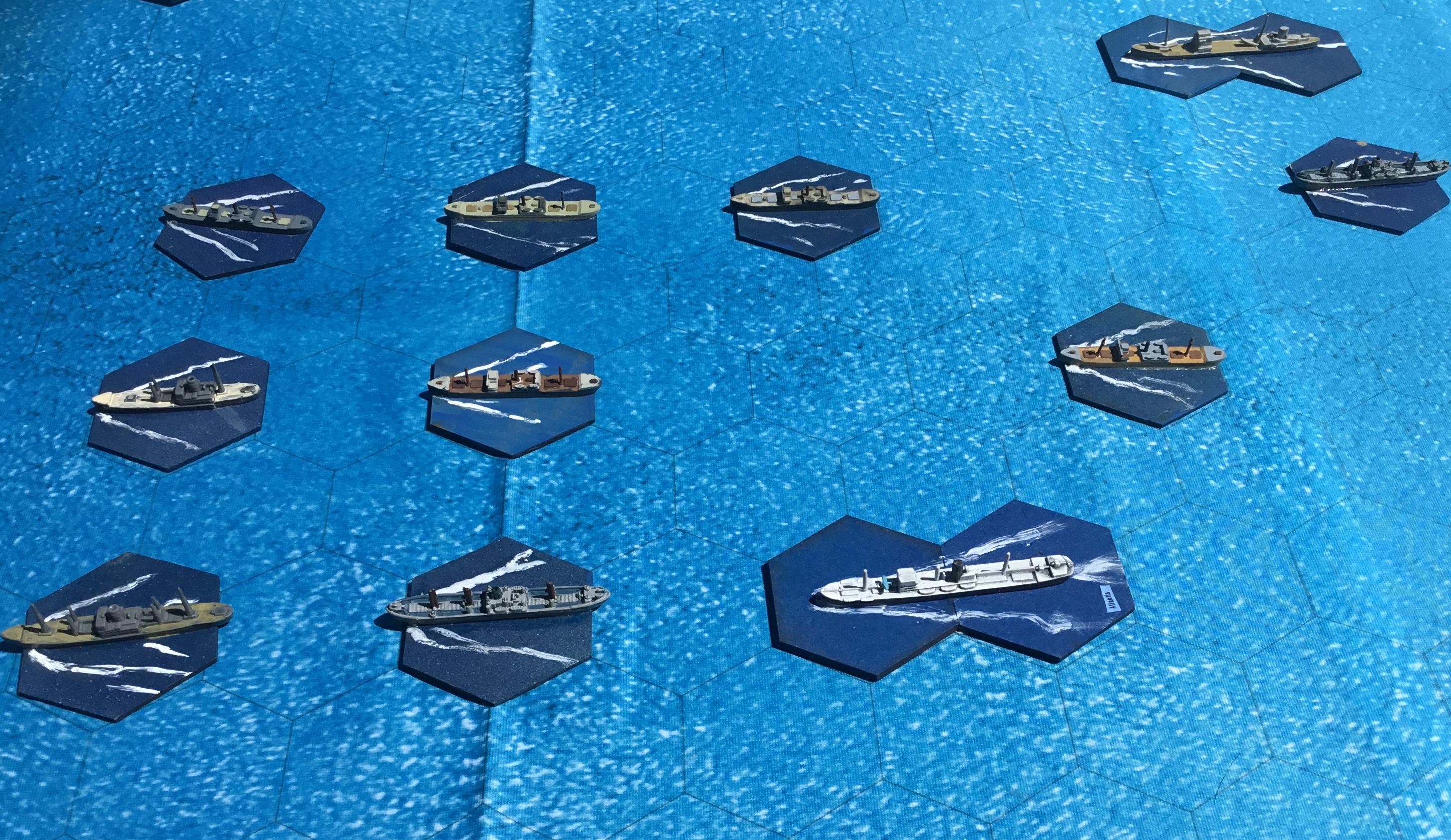 Naval wargaming – General Whiskers' semi-historical wanderings